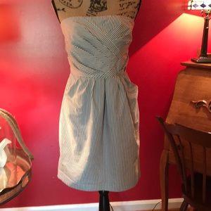 FCUK Blue/White Dress